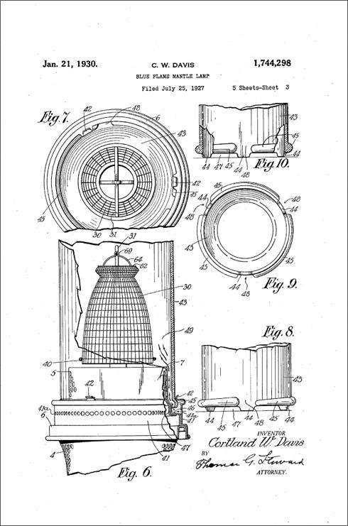 Aladdin Model-12-Burner-Parts